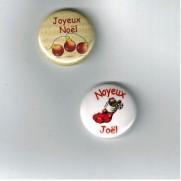 Herazz Badges Joyeux Noël - Noyeux Joël
