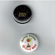 Herazz Badges Bonne Année 2021