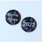 Herazz Badges Bonne Année 2022