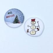 Herazz Badges Noël Magique