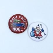 Herazz Badges Petit Papa Noël