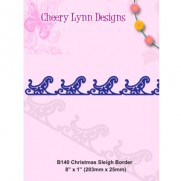 Cheery Lynn Bordure Christmas Sleigh
