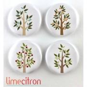 Limecitron Badges Arbres