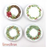 Limecitron Badges Couronnes