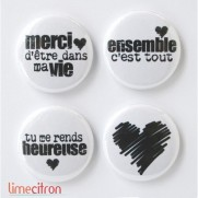 Limecitron Badges Ensemble