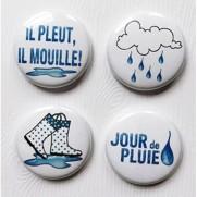 Limecitron Badges Jour de Pluie