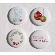 Limecitron Badges Joyeux Joyeux Noël