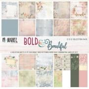 """49 and Market Pad 12"""" X 12"""" Bold & Beautiful"""