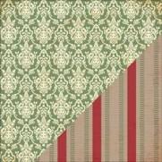 Bazzill Christmas Dress/Burlap Ticking
