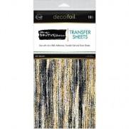 Deco Foil Feuilles de Transfert à motifs Dry Brush