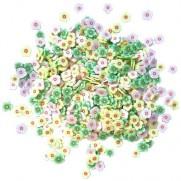 Buttons Galore pièces pour Skaker Fleurs du Printemps