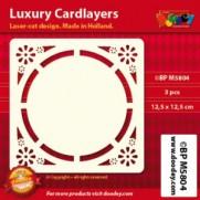 Card Layer Fleurs Ivoire