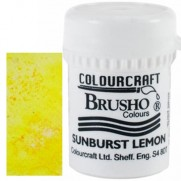 Brusho Crystal Colour Citron Sunburst