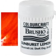 Brusho Crystal Colour Orange