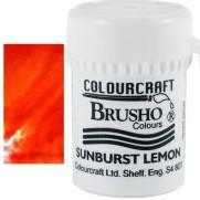 Brusho Crystal Colour Orange