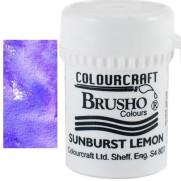 Brusho Crystal Colour Purple
