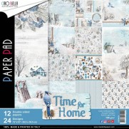"""Ciao Bella Pad 12""""X12"""" Time For Home"""