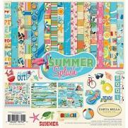 """Carta Bella Collection 12""""X12"""" Summer Splash"""