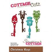 CottageCutz Die Clés de Noël