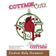 CottageCutz Die Ornement cardinal