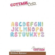CottageCutz Die Points de Couture Alphabet