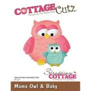 CottageCutz Die Maman Hibou & son Bébé