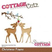 CottageCutz Die Faons de Noël