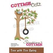 CottageCutz Die Arbre & Balançoire en pneu