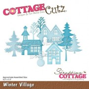 CottageCutz Die Village hivernal