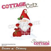 CottageCutz Die Gnome dans la cheminée