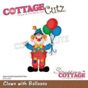 CottageCutz Die Clown avec des Ballons
