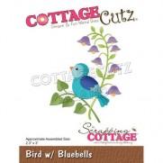 CottageCutz Die Oiseau & Jacinthe
