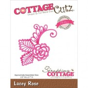 CottageCutz Elites Die Lacey Rose