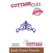 CottageCutz Die Coin flourish petit