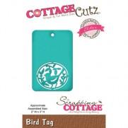 CottageCutz Die Oiseau étiquette