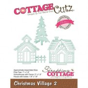 CottageCutz Elites Die Village de Noël 2