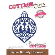 CottageCutz Elites Die Ornement Nativité