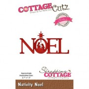 CottageCutz Elites Die Noël Nativité