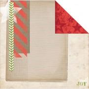 Bo Bunny Papier Christmas Collage