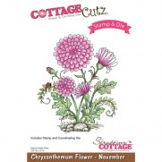 CottageCutz Die & Étampe Chrysanthemum
