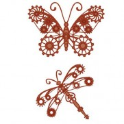 Sue Wilson Dies Papillon & Libellule