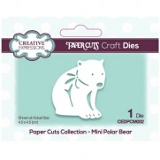 Creative Expressions Dies mini Ours Polaire