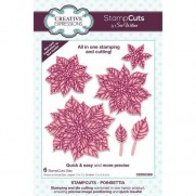 Creative Expressions StampCuts Dies Poinsettia