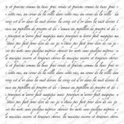 Impression Obsession Étampe Texte en Français