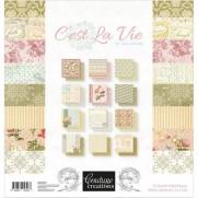 """Couture Creations 12"""" X 12"""" C'est La Vie"""