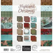 "Couture Creations 12"" X 12"" Highland Christmas"