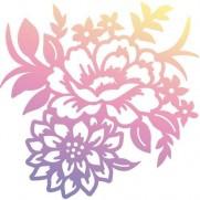 Couture Creations Étampe Rose Bouquet