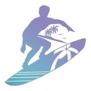 Couture Creations Étampe Surfeur
