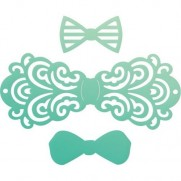 Couture Creations die Filigree Bow Tie