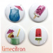 Limecitron Badges Cocktails